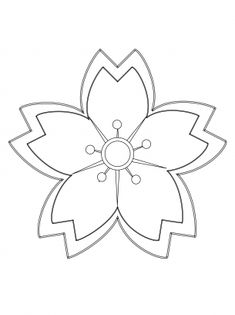 floral coloring pages | Flower Coloring Pages