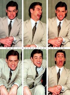 Funny pictures about Jim Carrey: The King of Derp. Oh, and cool pics about Jim Carrey: The King of Derp. Also, Jim Carrey: The King of Derp photos. Funny Faces Pictures, Jean Reno, John Travolta, Face Expressions, Derp, Man Humor, Funny People, Comedians, Actors & Actresses