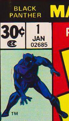 Marvel corner box art - Black Panther #1