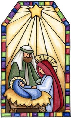 Stained glass and mosaic courses in Sheffield: April 2011 'Sunrise . Christmas Graphics, Christmas Clipart, Christmas Images, Christmas Printables, Christmas Projects, Christmas Rock, Christmas Nativity Scene, Christmas Time, Nativity Scenes