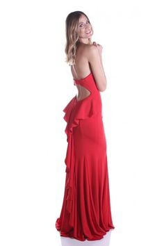 Dare to show off in this fashionable dress from Nox Anabel E002 Holiday Dresses, Spring Dresses, Gowns For Rent, New Designer Dresses, Dress Form Mannequin, Dress Rental, Festa Party, Pageant Gowns, Vintage Sewing