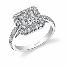 LC5247 Engagement Ring (#LC5247) - Engagement Rings - Coast Diamond - Designers Splash | Geoffrey's Diamonds and Goldsmith | San Carlos, CA