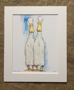 Ducks Limited Edition Print | Becca Fielding
