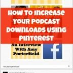 """How To Increase Your Podcast Downloads Using Pinterest  I have found an amazing strategy in using Pinterest to increase the number of downloads and subscribers to my client's podcast. Do you want to know what it is? Ready? I'll pull back the curtain here…. """"JUST ASK!"""" Well, there's a bit more to it than that but quite honestly, it's not that complicated."""