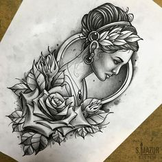 Tattoos have been and are still a big part of many to this day, and many people have one or more tattoos on their bodies. Many different cultures embrace tattoos, and they can bear many different m… Tatuajes Tattoos, Arm Tattoos, Rose Tattoos, Body Art Tattoos, Sleeve Tattoos, Tattoo Studio, Tattoo Sketches, Tattoo Drawings, Art Sketches