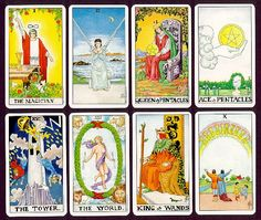 Universal Waite Tarot Deck & Book Set