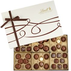Master Chocolatiers Gift Box. Box supplied by Encore Intl.