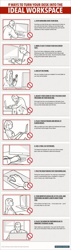 * 9 Ways To Turn Your Desk Into The Ideal Workspace