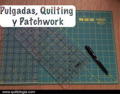 Quiltología: Cómo entender las pulgadas en un mundo decimal | Patchwork y Quilting en español Patchwork Quilting, Quilts, Quilting Tools, Decimal, Fabric Patch, Patches, Chart, Sewing, Vintage
