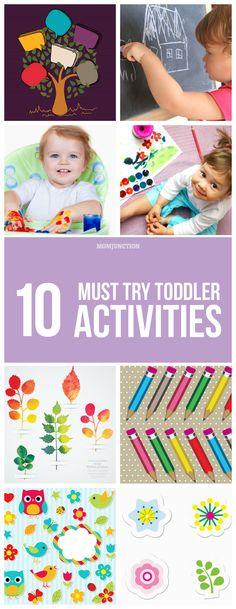 #Toddlers Activities: The process of both activities appears to be similar, in reality, they are different. Any art activity is open-ended and unstructured while craft activity is goal-oriented and structured.