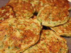 These simple zucchini pancakes make a great side dish. They're light and low in carbs and are absolutely delicious!