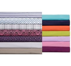 Dorm room beds are made to accommodate all shapes and sizes, so extra-long twin sheets are a must. Consider getting two sets of sheets so you can space out your laundry days. Dorm Room Essentials Twin XL Sheets