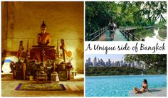 Discover a new side of Bangkok! Tips for unusual, unique and cool things to do in Bangkok. Hidden places, best hotels in Bangkok and memorable experiences.