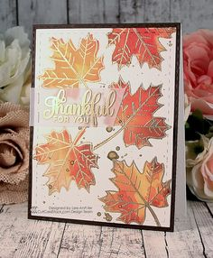 Don't you just smell the fall in the air? People are craving everything pumpkin and I am feeling the need to make fall cards. It's the pe...