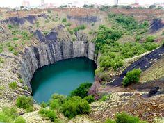 Grande Buraco Kimberley, África do Sul – um buraco artificial