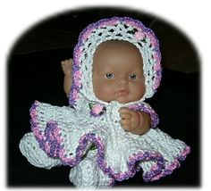 Dress Set for 8 Inch Lots to Love Berenguer by MimisCrochetDen, $11.99