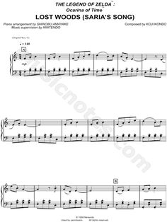 Sheet Music-Legend of Zelda (Sam)