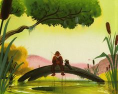 Visual Development from Song of the South by Mary Blair