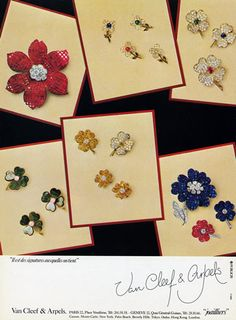 Van Cleef & Arpels (Jewels) 1984 Flowers Clips
