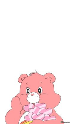 Blog Wallpaper Stickers, Bear Wallpaper, Emoji Wallpaper, Wallpaper Iphone Disney, Cute Disney Wallpaper, Kawaii Wallpaper, Cute Cartoon Wallpapers, Aesthetic Iphone Wallpaper, Couple Wallpaper