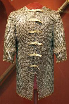 Mail shirt (hauberk)  Possibly Germany, 1400-50.