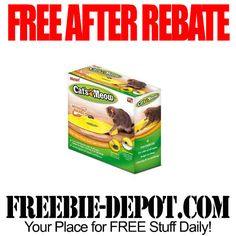 ►► FREE AFTER REBATE - Cat's Meow Cat Toy - Exp 9/30/15 ►► #FreeAfterRebate, #FreeStuffForCats, #FREEbate, #TigerDirect ►► Freebie-Depot