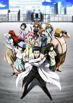 Steins;Gate 0 Second Cour Anime Key Visual