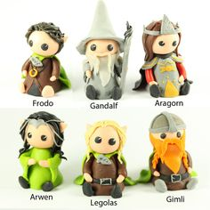 Make your own clay creation  Lord of the Rings by DollArtbyJulie