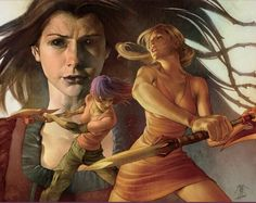 "Buffy Season 8: ""Time of Your Life"" Trade Paperback Cover by Jo Chen."