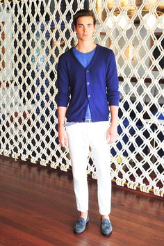 fun, relax and casual menswear style from Gant Rugger SS15: Fashion + Style