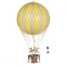 Luftballon, gul (32 cm)