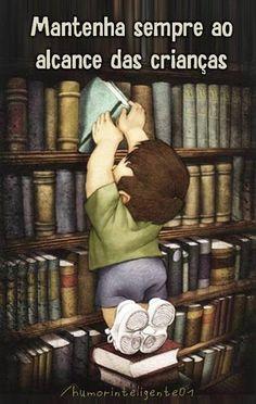 Alimentar a leitura é proporcionar um mundo de infinitas possibilidades…