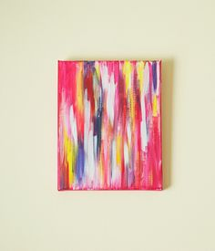 Abstract painting tutorial--this is TOO cool! Can't wait to try this one.