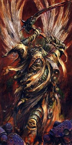 Mortarion, Prince of Decay. Daemon-Prince of Nurgle