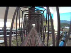 ▶ HOレイアウト運転席展望 カーブポイントと信号機、下り線編 - YouTube