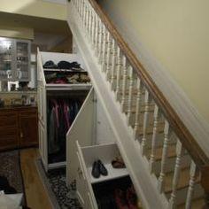 best under the stairs storage