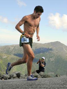 Sage Canaday Dominates running Mt. Washington