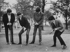 I'm glad Ringo understands how to golf