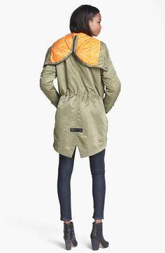 Cool design! rag & bone Hooded Parka