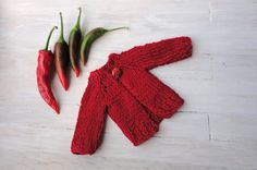 Doll's cardigan/ knitted cardigan/ clothes for Waldorf dolls/ Waldorf Doll…