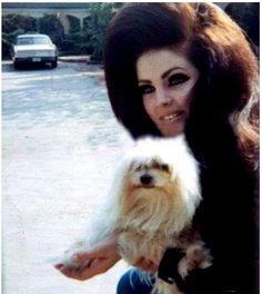 Priscilla Presley & a whole lotta hair
