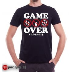 Game over - koszulka na wieczór kawalerski Oxford, Sports, Tops, Fashion, Hs Sports, Moda, Fashion Styles, Sport, Fashion Illustrations