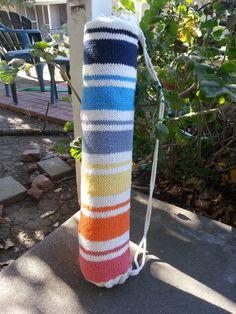 Sunrise: A yoga mat bag knitting pattern