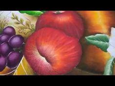 Pintura em tecido maçã 2 -Graça Tristão - apple 2- Nível igual ao meu in...