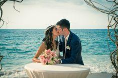 Destination wedding at Barcelo Puerto Vallarta in Mexico - Riley & Cooper Real Wedding - WeddingVacations.com