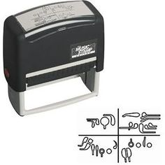 Bassoon fingering stamp, well i also need this. just walk up to someone and stamp this on their forehead if theyre being annoying