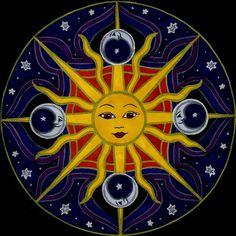 Celeste by Jewelfly on DeviantArt - Celestial Sun Face Art