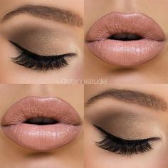neutral wedding makeup best photos - wedding makeup  - cuteweddingideas.com