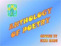 "A LOT of poetry resources!  Power points and ""anthologies"" of poems to use with students."