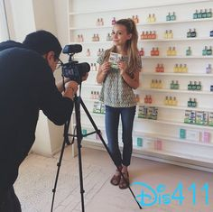 Photos: G Hannelius Filmed Something Fun At Olive